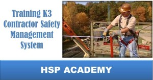 Training K3 Contractor Safety Management System