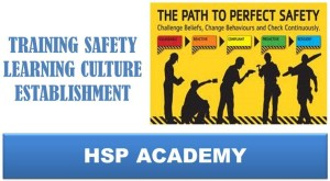TRAINING SAFETY LEARNING CULTURE ESTABLISHMENT