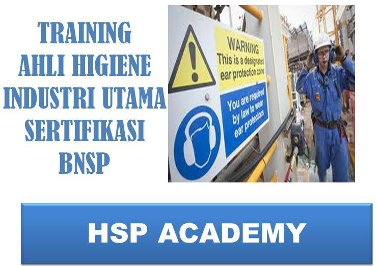 Training Ahli Higiene Industri Utama