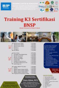 Jadwal Training K3 Migas